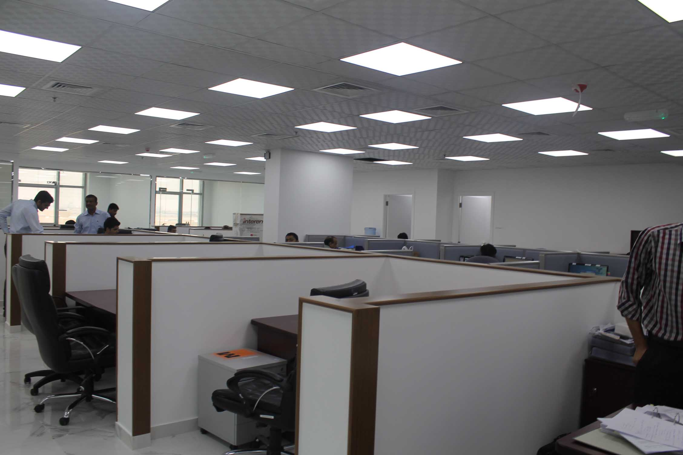 Charminar contractingllc for Office interior fit out